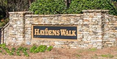 Haydens Walk