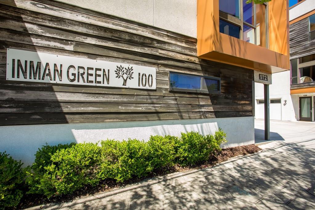 Inman Green sign