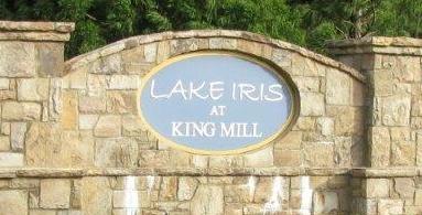 Lake Iris at King Mill