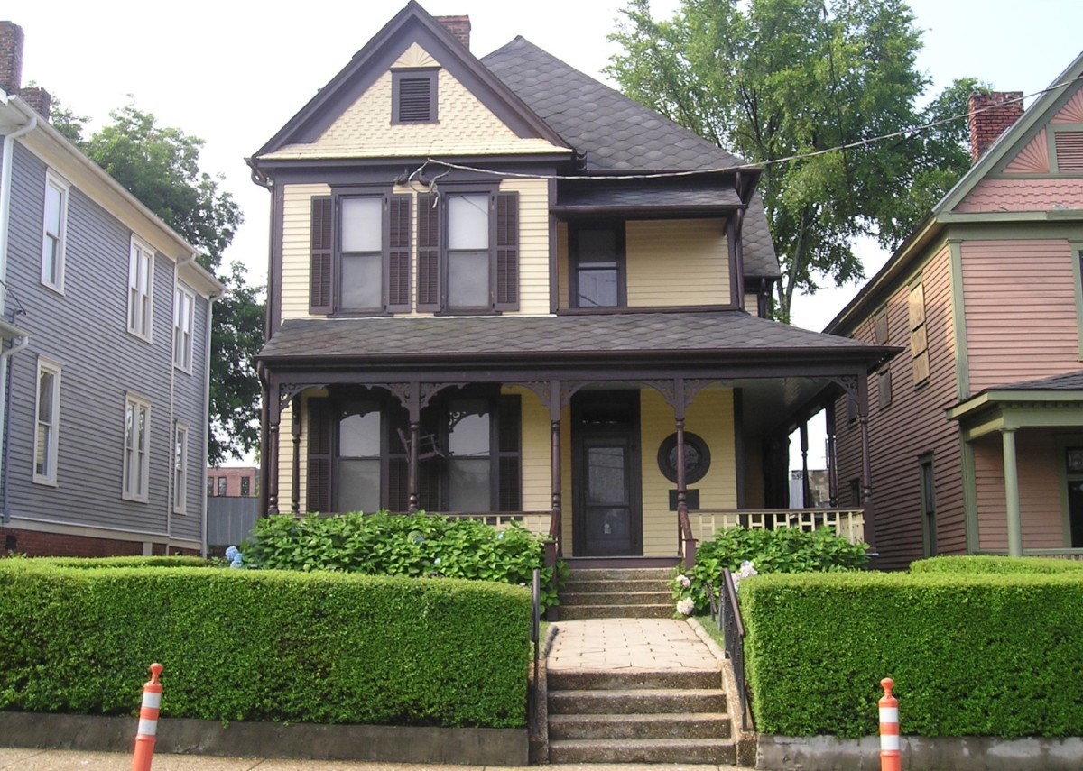 The birth home of Martin Luther King Jr.