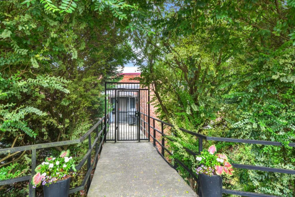 Private Beltline entrance