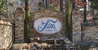 The Falls of Autry Mill