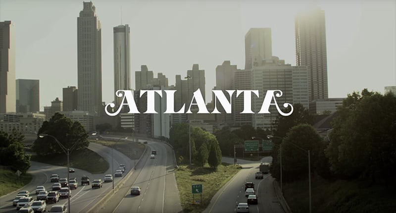 Titlecard from the Atlanta FX show