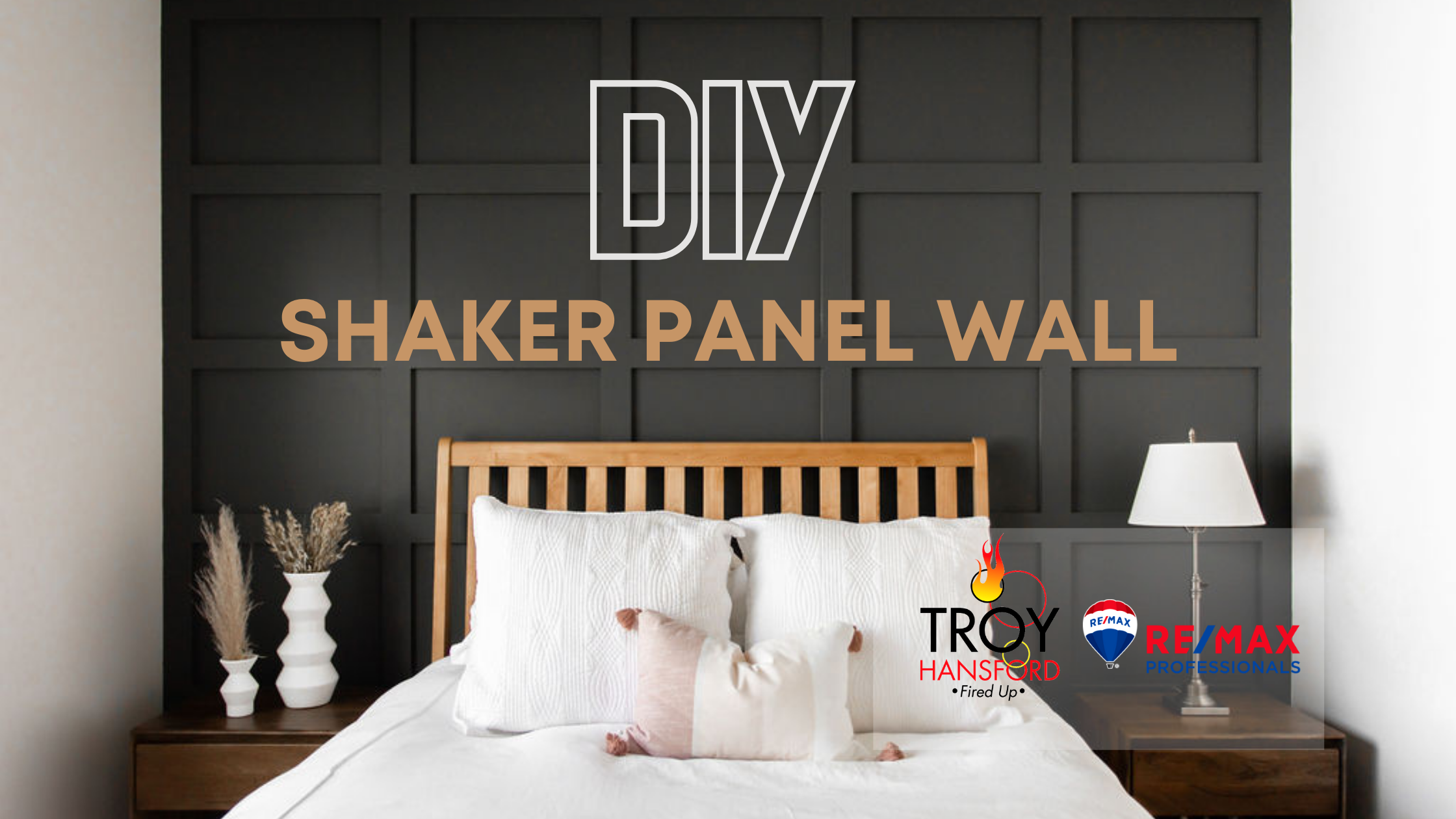 DIY Shaker Panel Wall