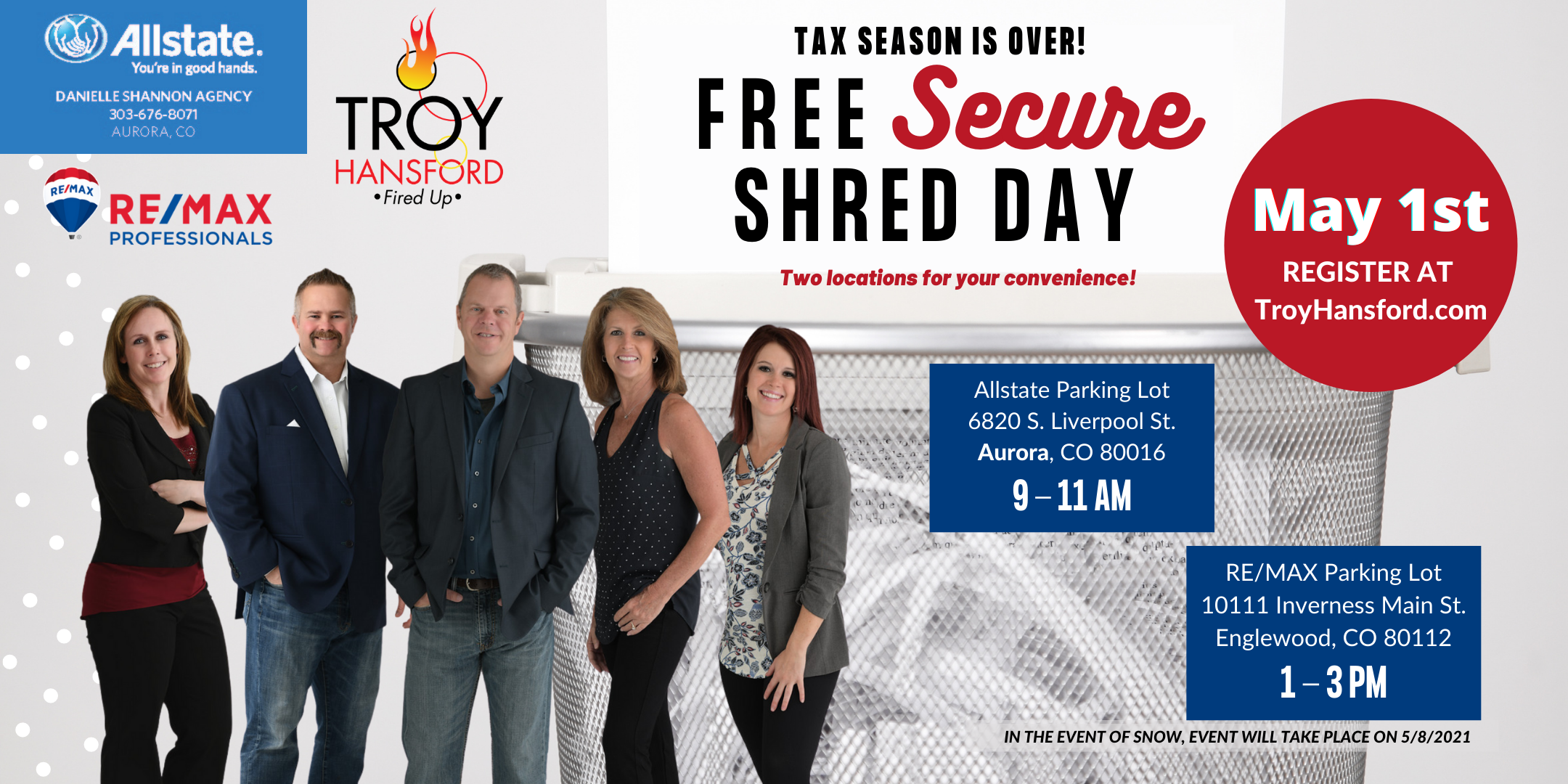 Annual Secure Shred Event