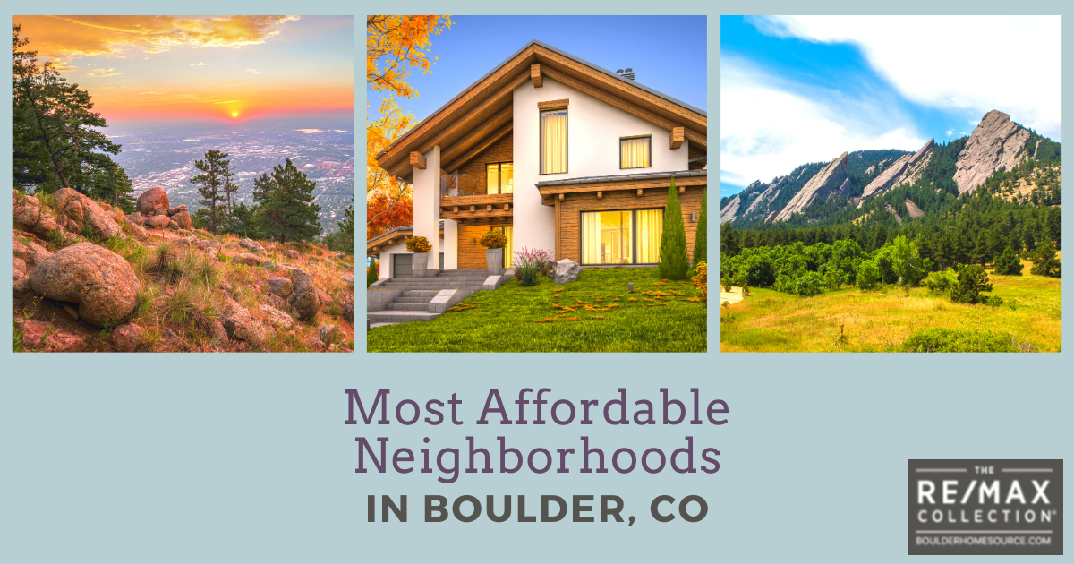 Boulder Most Affordable Neighborhoods