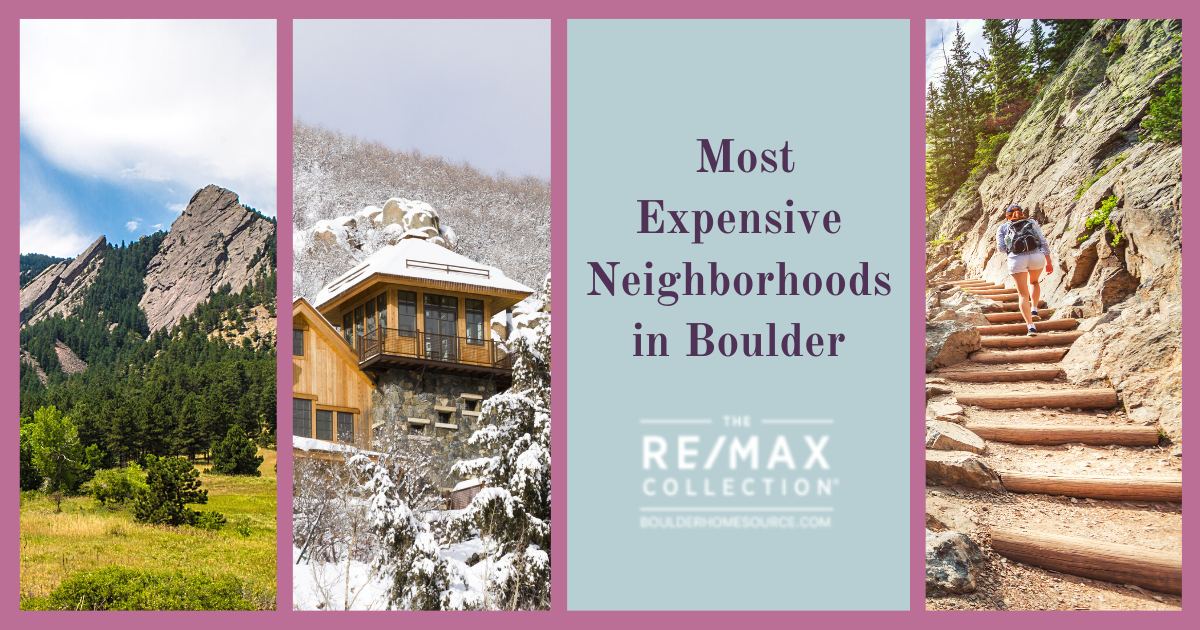 Boulder Most Expensive Neighborhoods