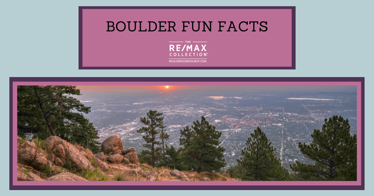 Boulder Fun Facts