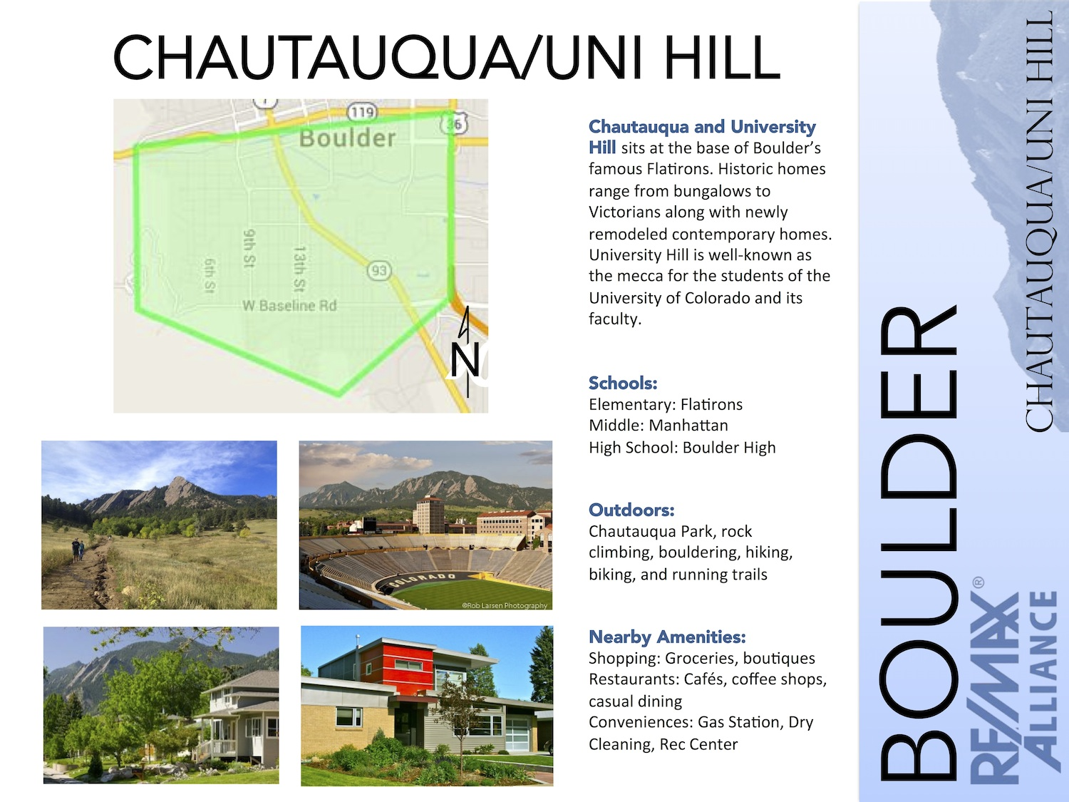 Chautauqua/University Hill, Colorado