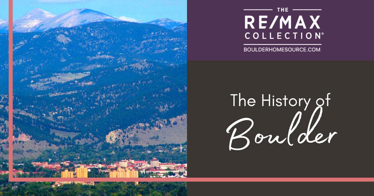 Boulder, CO History