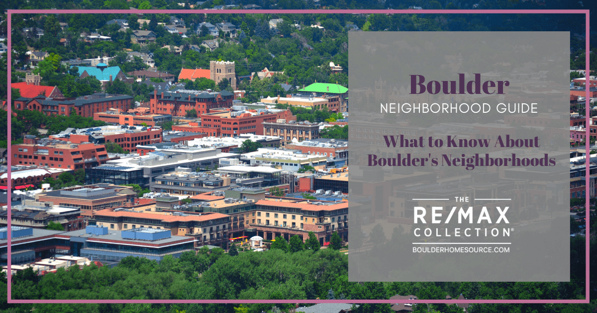 Neighborhoods and Districts in Boulder