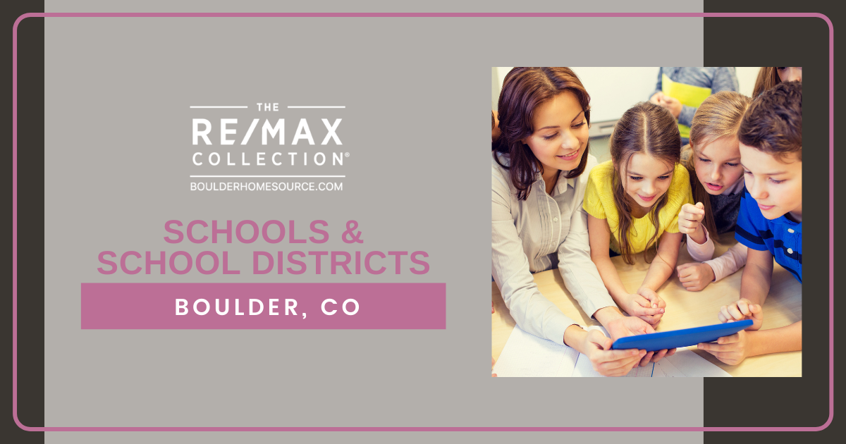 Schools and School Districts in Boulder