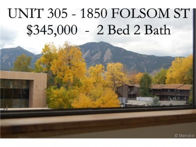 boulder 2 bed condo for sale