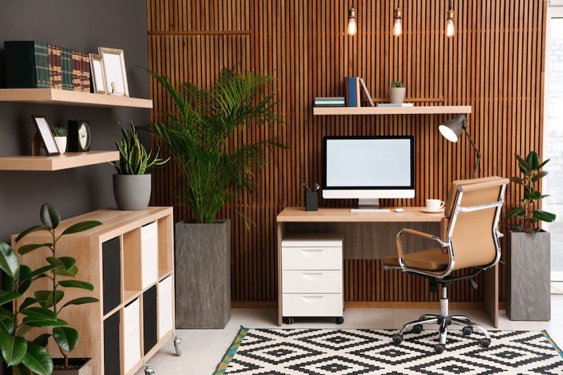 How to Decorate a Home Office Space