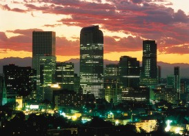 Downtown Denver at Night!