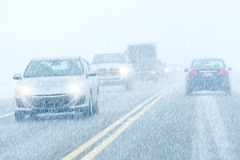 Driving a Long Distance in Ice and Snow Safely