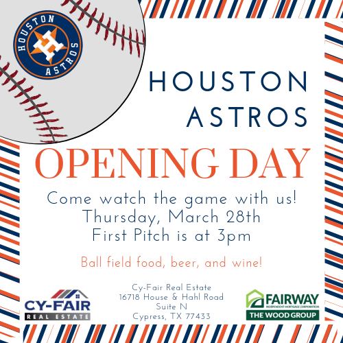 Astros Opening Day 2019