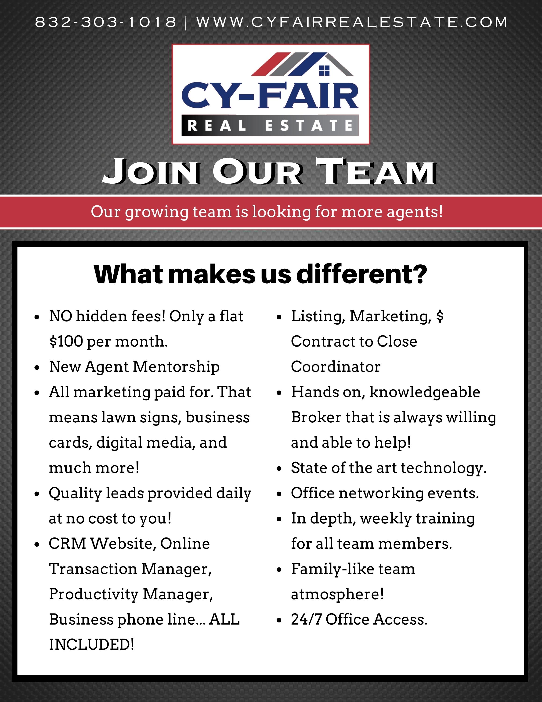 CFRE Recruitment Flyer