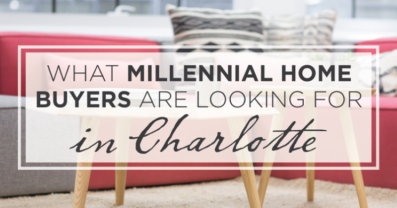 Charlotte Millennial Home Buyers
