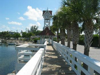 Bradenton Beach clock tower