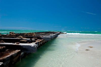 Coquina Beach in Bradenton Beach, FL