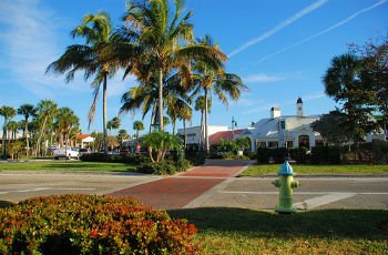 St. Armands Circle on Lido Key