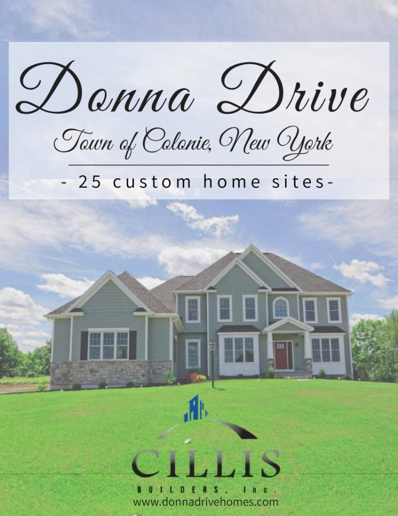 Donna Drive Homes Brochure
