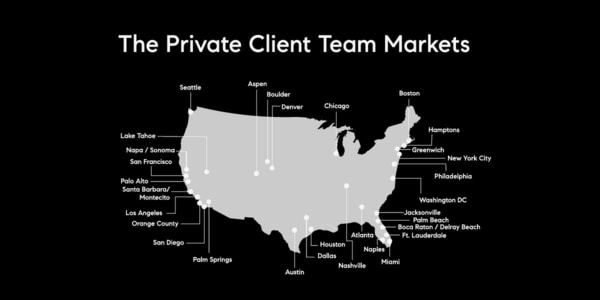 the Compass Private Client Team coast to coast nationwide