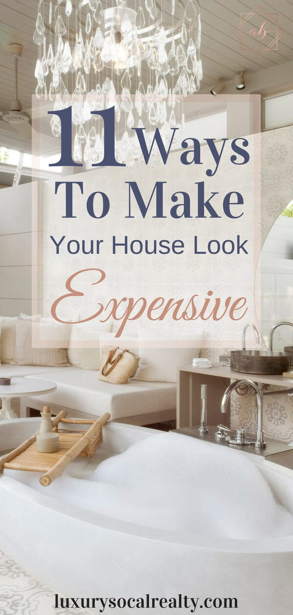 Home Decor On A Budget//Home Decor DIY//Home Decor Ideas//Home Decor Styles//Home Decor Modern//Home Decor On A Budget DIY//Home Decor Apartment//Home Decor Cozy//Home Decor Living Room//Home Decor Bedroom//Learn 11 Ways To Make Your House Look Expensive on a budget with DIY home decor ideas by by Joy Bender Luxury Real Estate Agent Compass San Diego REALTOR&reg #homedecorideas #diyhomedecor #homedecor