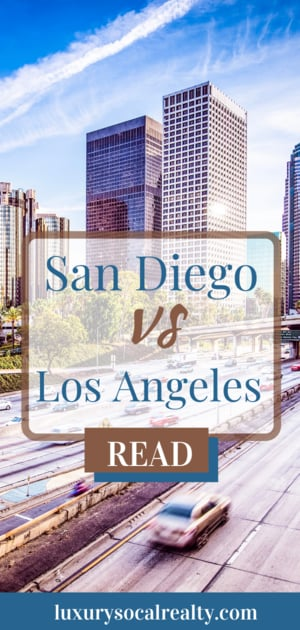 San Diego vs Los Angeles they are both known to feature beautiful landscapes, great weather, & diverse lifestyles. Read on to see what makes them different? written by San Diego Real Estate Agent Compass La Jolla REALTOR® #realtor #realestate