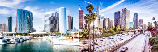 compare moving to San Diego or Los Angeles
