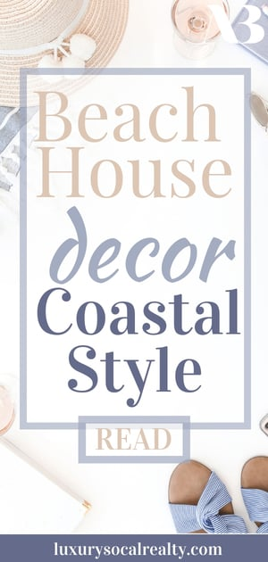 Discover 13 Beach House Decorating Ideas From Real Estate Pros!  Is your beach house looking dated? Or maybe you're planning to buy one, and you'd like to remodel it? Whatever your beach house decorating needs are, let the pros help written by Real Estate Agent Joy Bender | San Diego Realtor® Compass