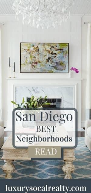 best neighborhoods to live in San Diego