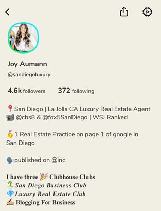 clubhouse for real estate agents