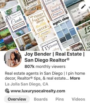 Pinterest real estate marketing