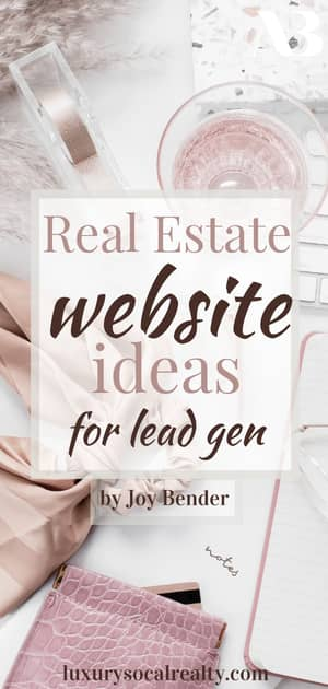 Real Estate Blog//Real Estate Website//Real Estate Website Design//Real Estate Website Ideas//Discover the best real estate website for Realtors® who want to generate their own leads.  I've used Sierra Interactive to generate multi-million dollar real estate leads and feel like it's the best platform for online lead generation heading into 2020.  By San Diego real estate agent Joy Bender Compass.