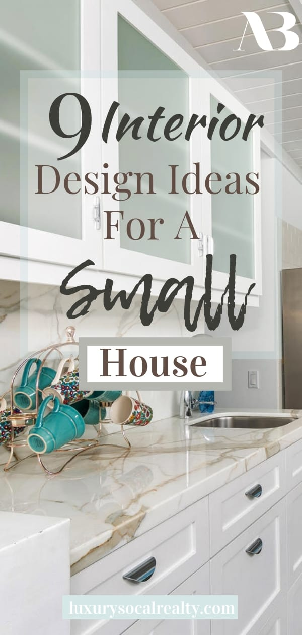 Small House Decorating//Small House Ideas//Small House Under 100 Sq Ft//Small House Interior//Small House Cottage//Small House Living//Interior Design Ideas For A Small House (Tiny House Ideas) curated by Joy Bender Real Estate Agent Compass San Diego REALTOR® #smallhouse #smallkitchen #smallbathrooms
