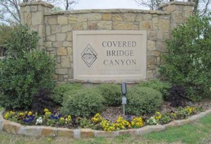 Covered Bridge Canyon in Fort Worth, TX