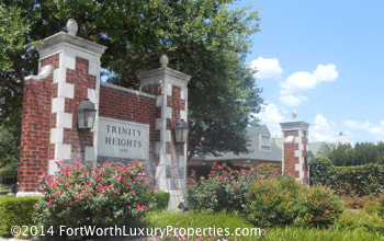 Trinity Heights homes in Fort Worth, TX