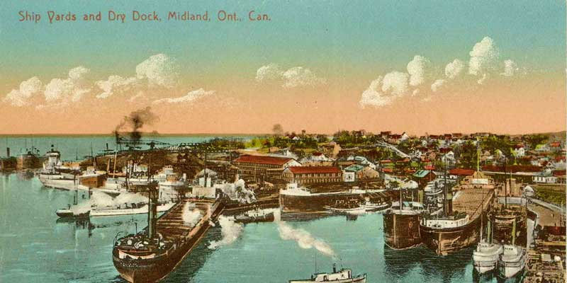 The History Of Midland Ontario