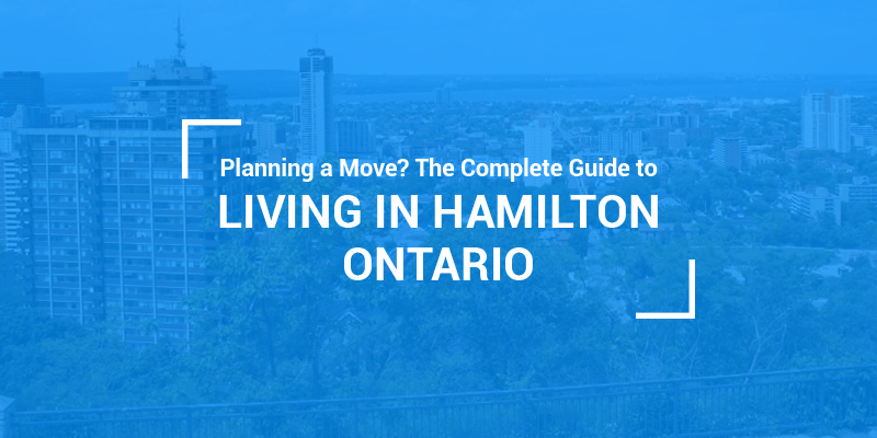 living in and moving to hamilton ontario