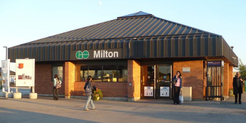 milton ontario neighbourhood best commute