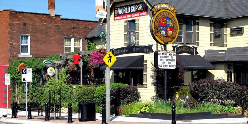 Old Walkerville Windsor Ontario