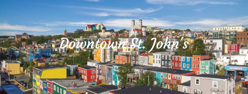 Downtown St. John's Homes for Sale