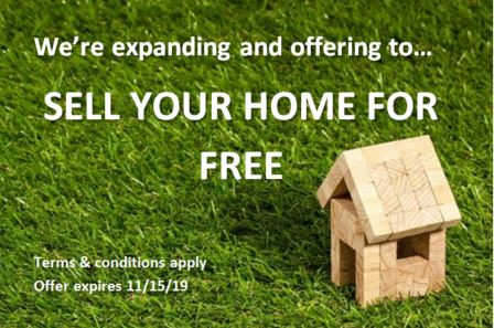 Sell your home for free