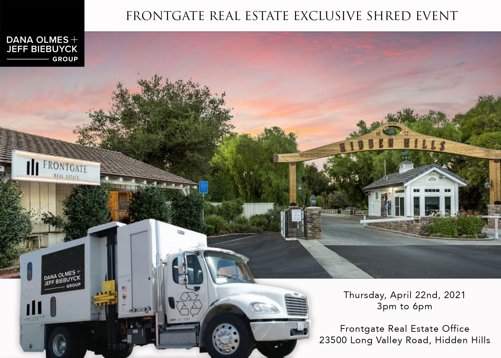 Frontgate Real Estate Shred Event 2021