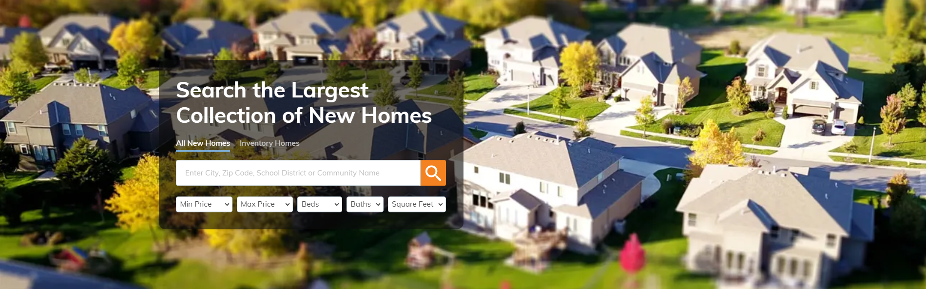 New Oregon Homes Search Site