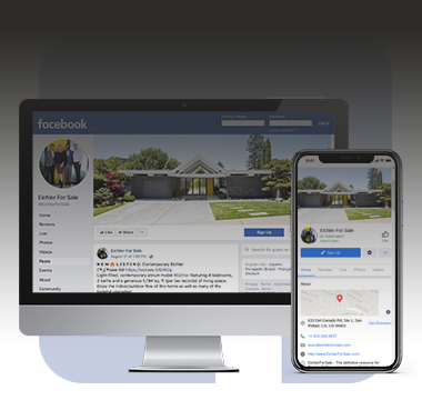 Facebook Follow Eichler for Sale