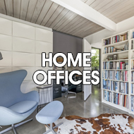midcentury modern home office