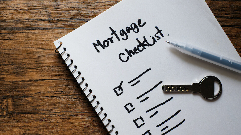 Setting up a Mortgage Document Checklist